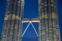 Petronas towers skybridge Royalty Free Stock Image