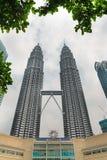 Petronas Towers and Suria KLCC, Kuala Lumpur Stock Photos