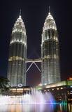 Petronas Towers and Suria KLCC in Kuala Lumpur Royalty Free Stock Image