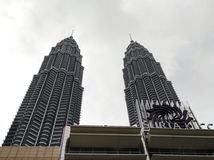 Petronas Towers and Suria KLCC, Kuala Lumpur Stock Photography