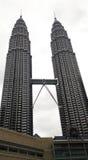 Petronas Towers and Suria KLCC, Kuala Lumpur Royalty Free Stock Photography