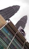 Petronas Towers and Suria KLCC, Kuala Lumpur Stock Image