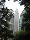Petronas Tweelingtorens KL stock foto