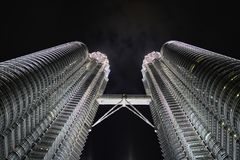 Petronas-Twin Tower Stockbilder