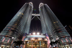 Petronas-Twin Tower Lizenzfreies Stockfoto