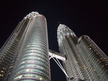 Petronas Twin Tower. Close up Petronas Twin Tower ,Malaysia Royalty Free Stock Images