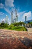 Petronas Twin Tower. Picture of Pertonas Twin Tower taken in Kuala Lumpur Malaysia Royalty Free Stock Photo