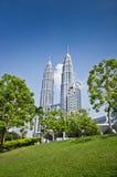 Petronas Twin Tower. Picture of Pertonas Twin Tower in Kuala Lumpur Malaysia Stock Photography