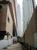 Petronas-Twin Tower Stockfotos