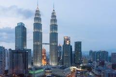 Petronas-Twin Tower Stockfoto