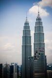 Petronas-Twin Tower Lizenzfreie Stockfotos
