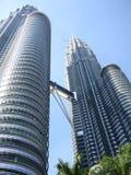 Petronas Twin Tower. In Kuala Lumpur Royalty Free Stock Photography