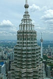 Petronas-Twin Tower, Kuala Lumpur malaysia Lizenzfreies Stockfoto