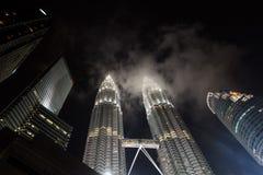 Petronas Twin Tower, Kuala Lumpur, Malaysia Stock Photography