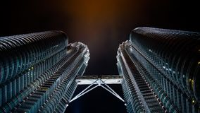 The Petronas Twin Tower Royalty Free Stock Images