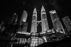 Petronas twin tower Stock Photo