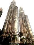Petronas Twin Tower Malaysia. KLCC Malaysia iconic building landmark Stock Photos