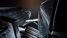 The Petronas Twin Tower, Malaysia Royalty Free Stock Photography