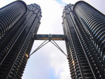 Petronas Twin tower morning scene Stock Photography