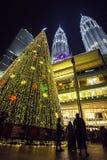 Petronas Twin Tower. Suria KLCC Royalty Free Stock Photos