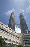 Petronas twin tower and Suria KLCC Stock Photography