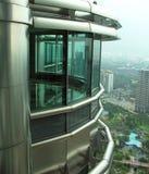 Petronas-Twin Towerbüro Stockfotografie