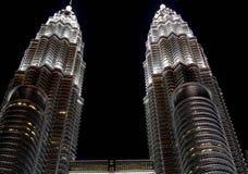 petronas twin towers obrazy stock