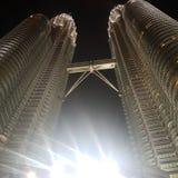petronas twin towers fotografia royalty free
