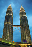 The Petronas Twin Towers Stock Image