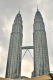 Petronas twin towers. Kuala lampour Royalty Free Stock Photography