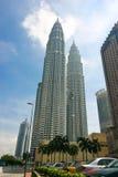 Petronas Twin Towers. Petronas Towers, Symbol the Kuala Lumpur and the new Malaysia royalty free stock image