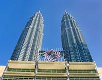The Petronas Twin Towers royalty free stock photos