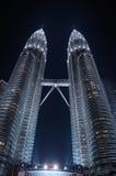 Petronas twin towers. In Kuala Lumpur, Malaysia Stock Images