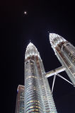 The Petronas Twin Towers Royalty Free Stock Photography