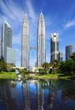 Petronas Twin Towers. Stock Photography