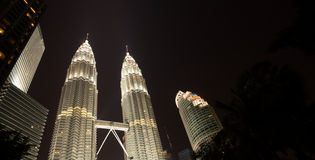petronas twin towers Obraz Stock