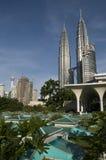 PETRONAS Twin Towers. Malaysian Icon Stock Photo