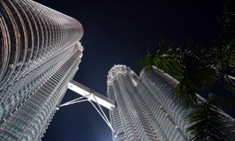 petronas twin towers Obrazy Stock