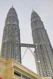 petronas twin towers Zdjęcia Royalty Free