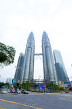 Petronas Twin Towers exterior design Stock Image