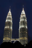 Petronas Twin Towers (KLCC) Royalty Free Stock Image
