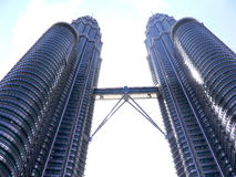 Petronas Twin Towers or KLCC Stock Photo