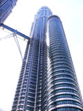 Petronas Twin Towers or KLCC Royalty Free Stock Image
