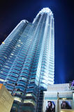 Petronas Twin Towers - KLCC Royalty Free Stock Photo