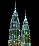 Petronas Twin Towers, (KLCC). Royalty Free Stock Image