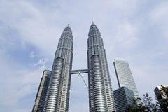 The Petronas Twin Towers Royalty Free Stock Photo