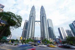 The Petronas Twin Towers Royalty Free Stock Images
