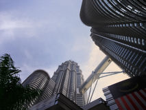 Petronas Twin Towers. Royalty Free Stock Photo