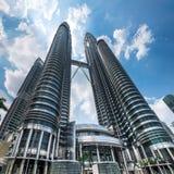 Petronas Twin Towers at Kuala Lumpur City Center. Malaysia Stock Images