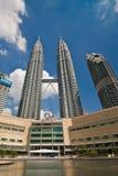 Petronas Twin Towers - Kuala Lumpur, Malaysia Royalty Free Stock Image